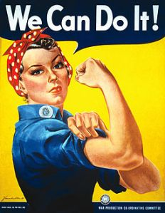 We can do it poster WWII