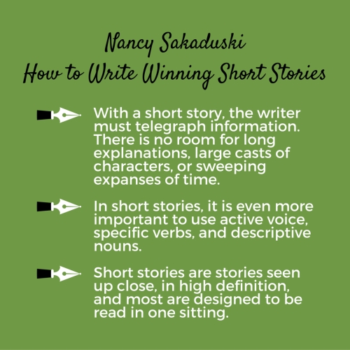 tips on writing short stories 20 writing tips from fiction authors  the short-term memory only retains  information for three minutes unless it is committed to paper you can lose an  idea for.